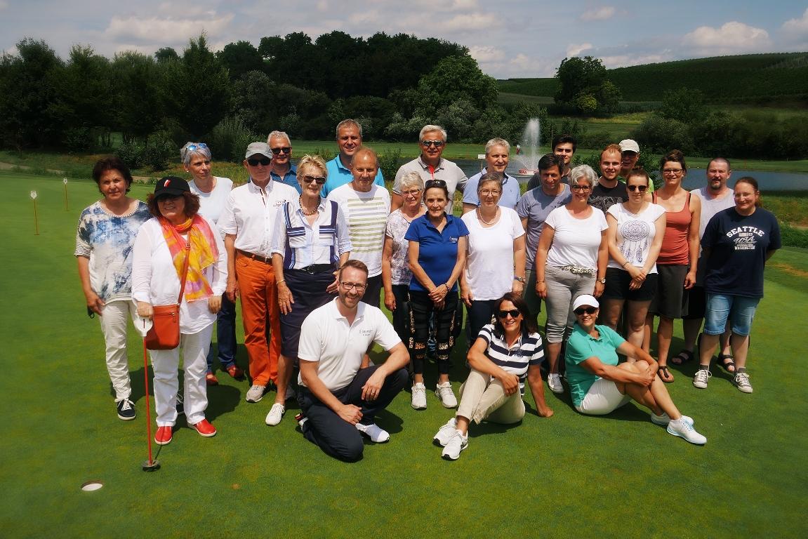 Golfevent Amputiert Golf Mit Prothese Orthese