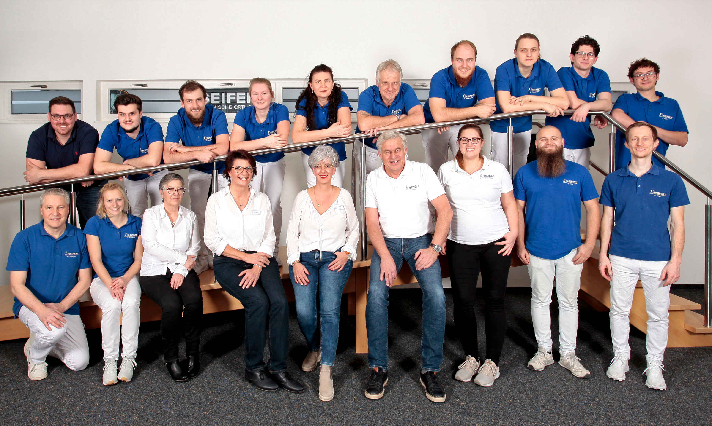 Teamfoto Seifert Technische Orthopädie
